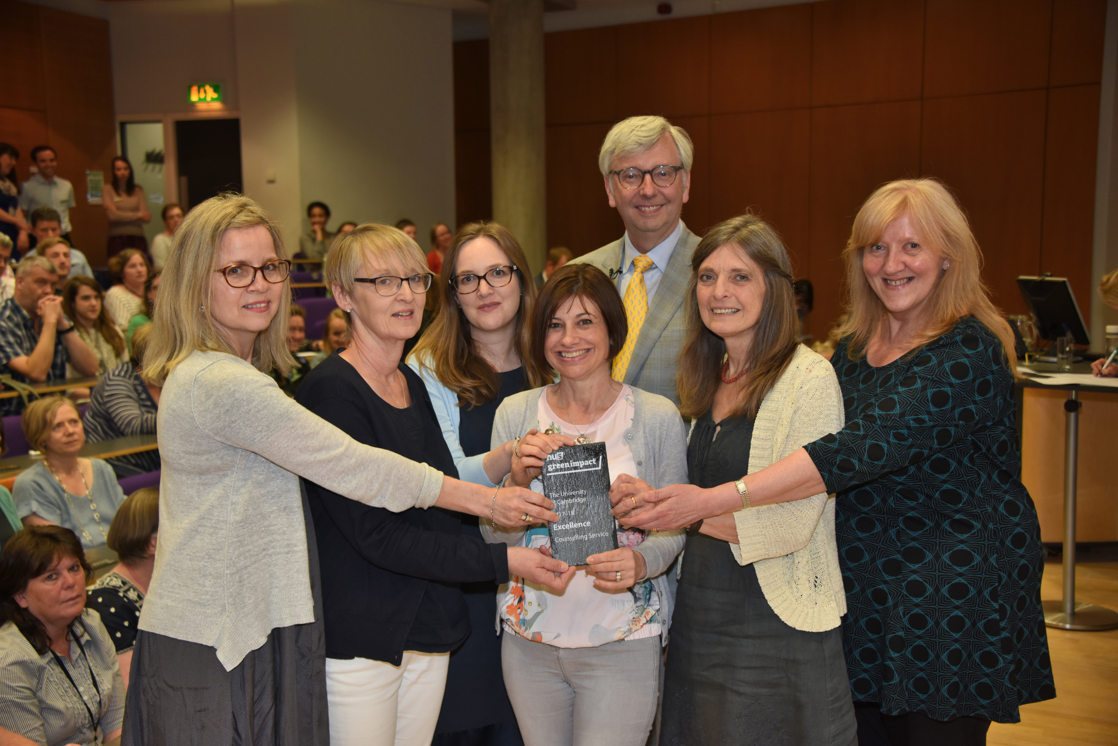 Counselling Service Excellence winners