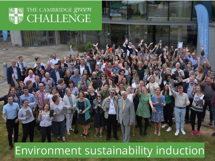 Environmental sustainability induction