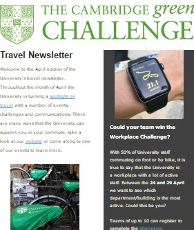 Travel newsletter