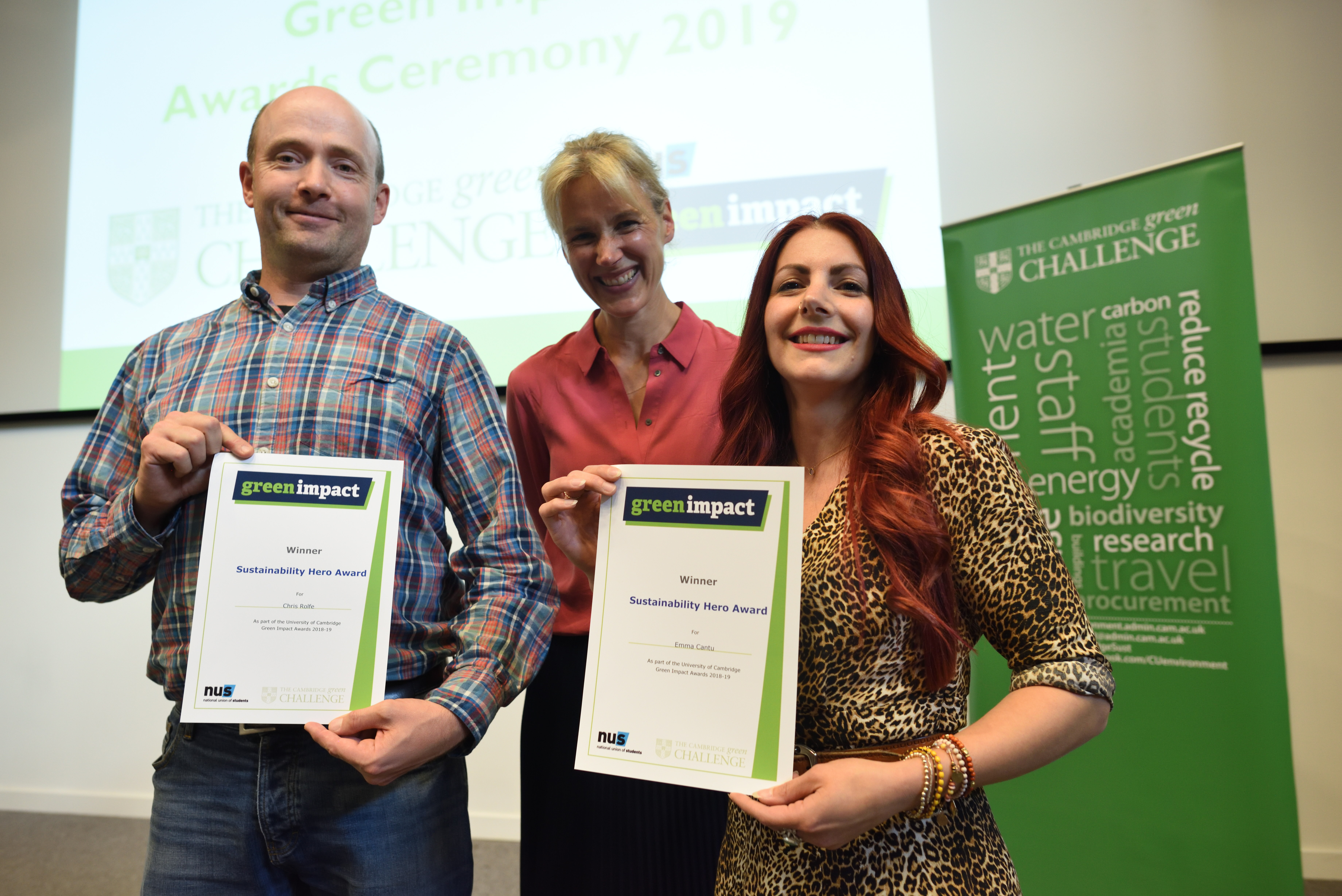 Leah, Highly Commended for Environmental Hero Award