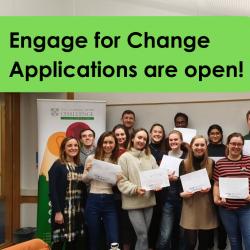 Engage for Change participants