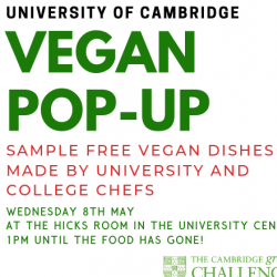 Read more at: Vegan Pop-up- Wednesday 8th May