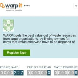 Read more at: WARPit: New resource sharing tool for the University