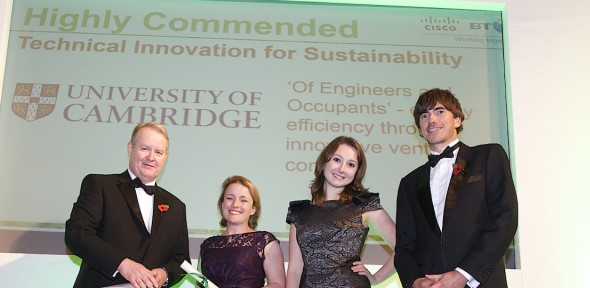 University success at 2014 Green Gown Awards | Environment and Energy